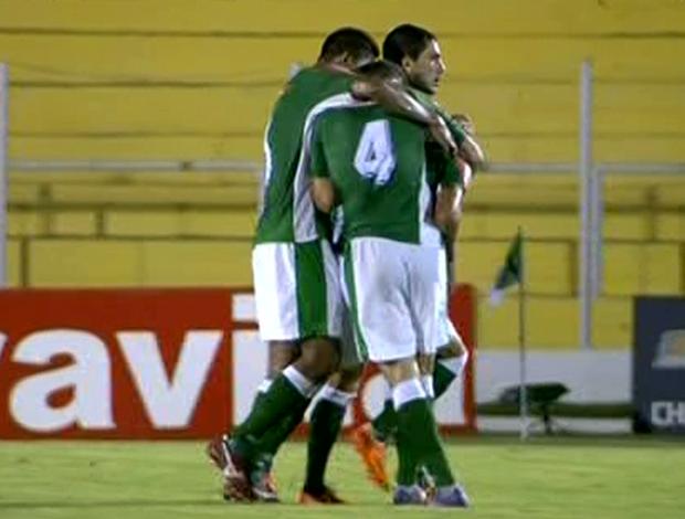 Luverdense fez 2 a 0 no Vila Nova, no Estádio Passo das Emas (Foto: Reprodução/PFC)