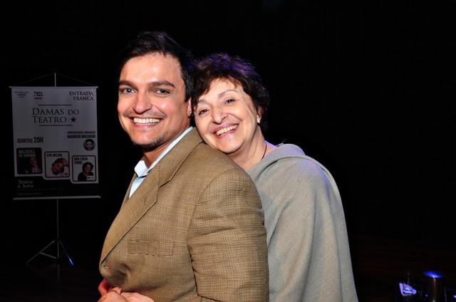 Ana Lúcia Torre e Maurício Machado (Foto: Jeromino Gomes)