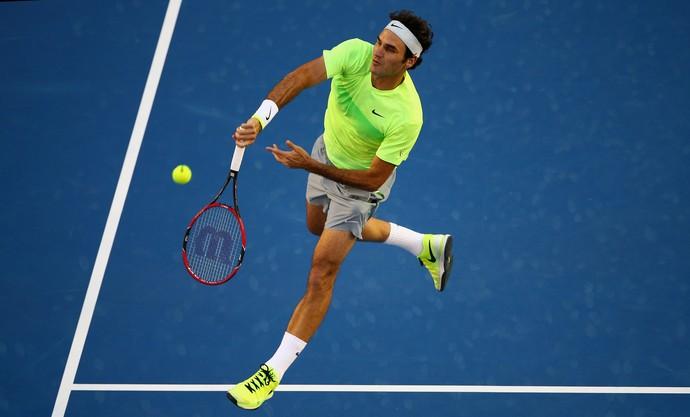 roger federer x Yen-Hsun Lu aberto da australia tenis (Foto: Getty Images)