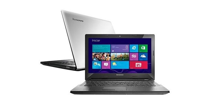 Lenovo G40 70 traz processador Intel Core i5 e 4 GB de memória RAM (Foto: Divulgação/Lenovo)