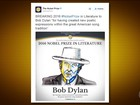 Bob Dylan: veja a repercussão do prêmio Nobel de Literatura 2016