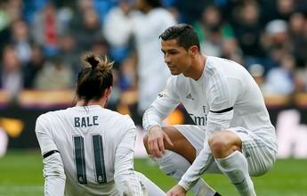Lesão de Bale retrocede, e galês deve desfalcar Real na Liga dos Campeões