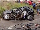 Cinco pessoas morrem em grave acidente na BR-251