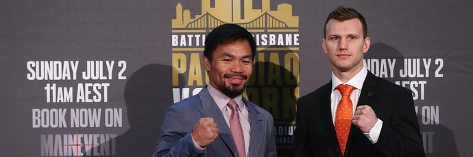 Pacquiao x Horn (Foto: Chris Hyde/Getty Images)