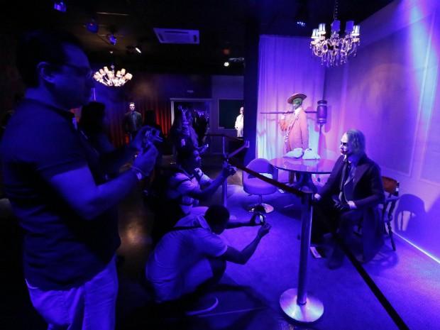 Museu de cera reúne 80 personalidades entre cantores, atores, políticos, personagens e atletas brasileiros e estrangeiros (Foto: Foz do Iguaçu Park Show / Divulgação)