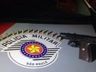Autônomo é preso por porte ilegal de arma de fogo em Araçatuba