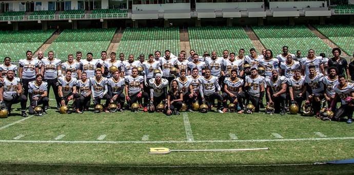 JF Imperadores Futebol Americano (Foto: Divulgação/JF Imperadores)