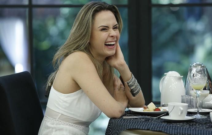 Ana Paula no Mais Você (Foto: Ellen Soares/Gshow)