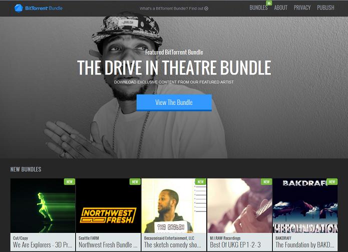 BitTorrent Bundle ajuda a distribuir músicas de artistas para fãs (Foto: Divulgação/BitTorrent)
