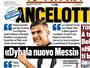 """Ancelotti exalta Dybala e Neymar: """"Herdeiros de Messi e Cristiano"""""""