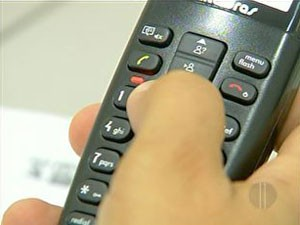 Candidato deve estar atento a ligações em horário comercial (Foto: Reprodução/Inter TV)
