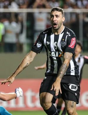 Lucas Pratto, gol Atlético-MG x Independiente del Valle (Foto: Bruno Cantini/ Flickr Atlético-MG)