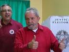 Para Lula, disputa pela Presidência ficará entre os partidos 'mais fortes'