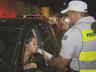 Operação para combater embriaguez autua 25 motoristas em Campinas