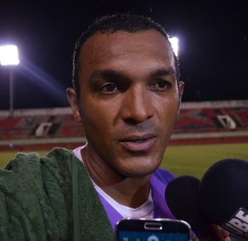 Máximo, goleiro Galvez (Foto: Duaine Rodrigues)