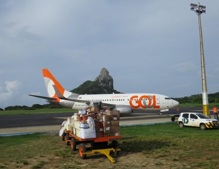 Avião Gol Noronha