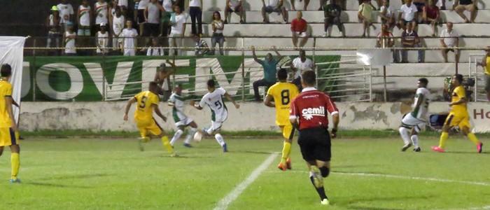 Ipatinga estreou como mandante com uma derrota para o Minas Boca (Foto: Igoor Reis/ Ipatinga)