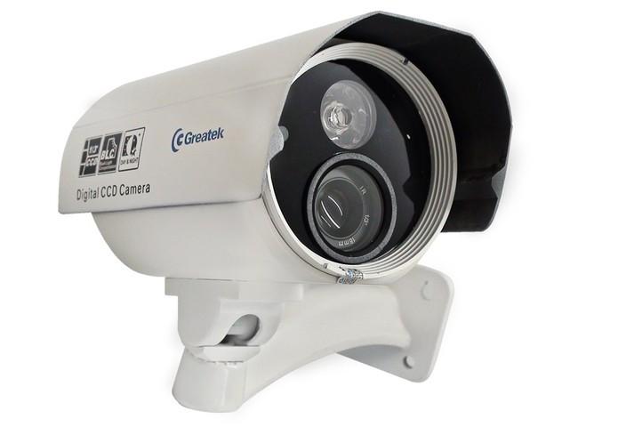 Modelos de câmera com 480 linhas oferecem maior qualidade (Divulgação/Greatek) (Foto: Modelos de câmera com 480 linhas oferecem maior qualidade (Divulgação/Greatek))