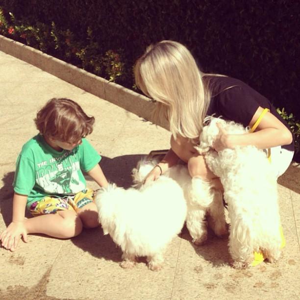 Claudia Leitte e o filho (Foto: Instagram/Reprodução)