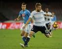 Com lampejo de dois minutos, Napoli e Lazio empatam em 1 a 1 no Italiano