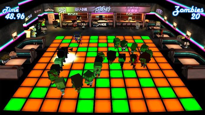 Conga Zombies é um divertido minigame que funciona como reimaginação do clássico Snake (Foto: PlayStation Blog)