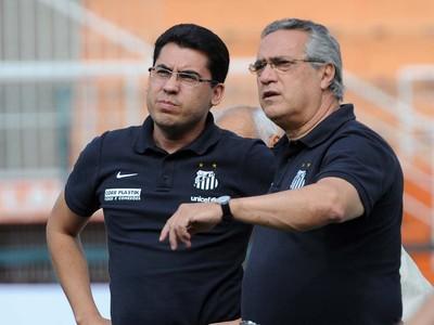 Sérgio Dimas e Dagoberto Santos (Foto: Ivan Storti/Santos FC)