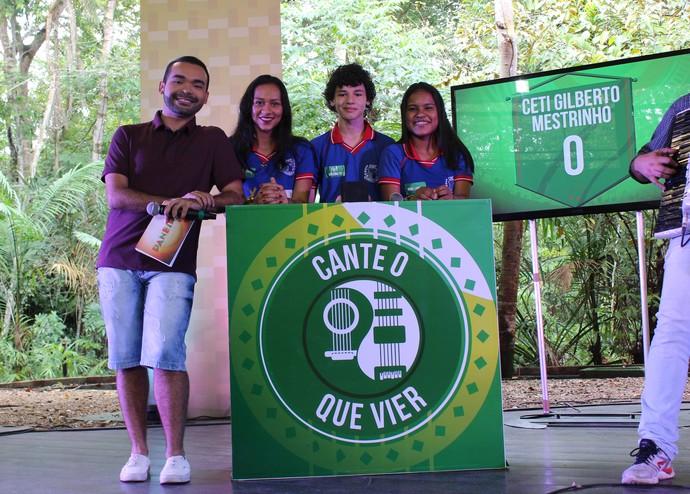 Momentos antes de começar a disputa (Foto: Katiúscia Monteiro/ Rede Amazônica)