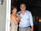 Glória Pires e Orlando Morais recebem famosos em sua casa para comemorar o aniversário do cantor