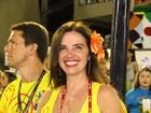 Luma de Oliveira não verá desfiles esse ano: 'Sentirei muita falta'
