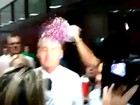 Após 'beijaço gay', grupos entram em confronto em evento com Bolsonaro