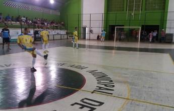 Com hat-trick de Tuti, Delta sai na frente na final do Capixaba de futsal