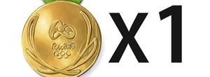 Charge Olimpíadas Rio 2016 Brasil Alemanha medalha de ouro 603x247