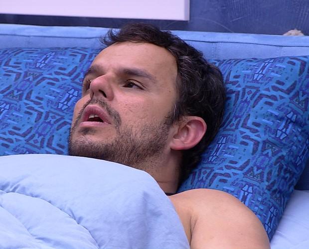 BBB às 01h22m do dia 11/02. (Foto: Big Brother Brasil)