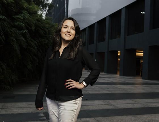 Julia Oliveira da Paz (Foto: Filipe Redondo)