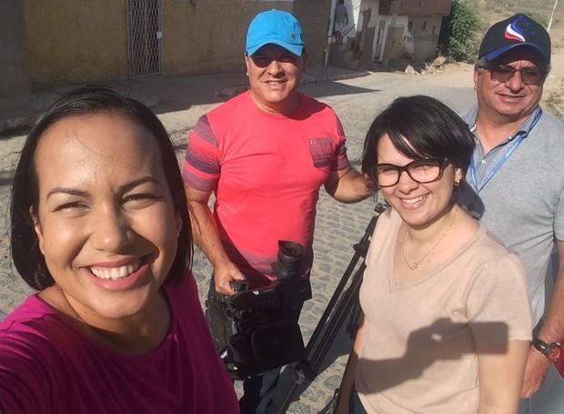 Primeira Cidade Real no Salgado (Foto: Divulgação/TV Asa Branca)