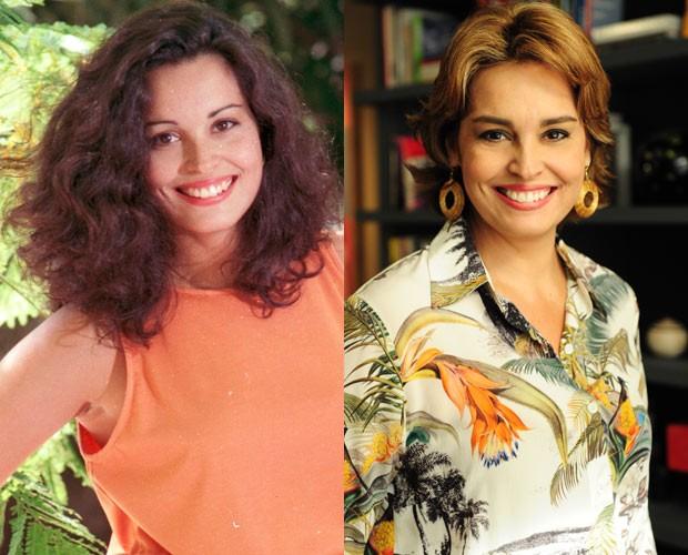 Suzy Rêgo (Foto: CEDOC / TV Globo e Alex Carvalho / TV Globo)