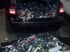 Polícia apreende 16 mil relógios sem nota fiscal em Florínea