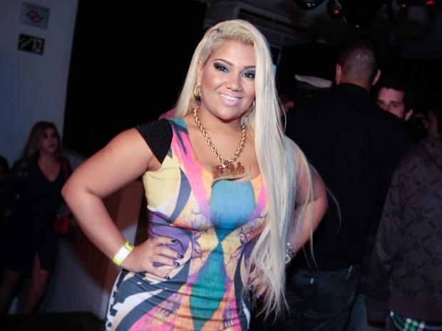 Mulher Filé em festa em São Paulo (Foto: Leo Franco/ Ag. News)