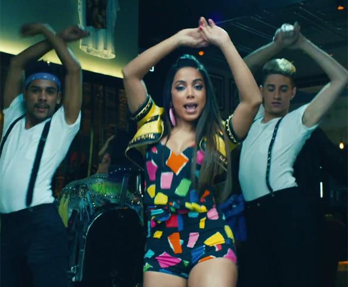 A coreografia do clipe foi feita pela própria Anitta (Foto: Reprodução)