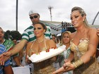 Douradas, Viviane Araújo e Juju Salimeni participam de ensaio técnico