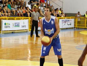 Duda, jogador do Macaé Basquete (Foto: Thiago Macedo/Ag. Ururau)