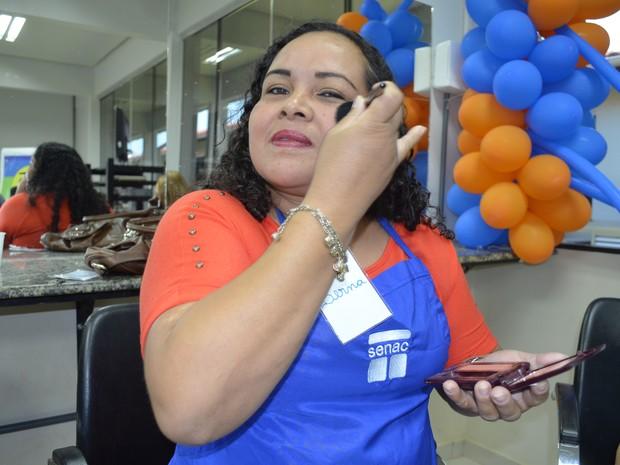 Bernadete Isacksson, 40 anos, é professora de educação especial (Foto: Maiara Pires/G1)