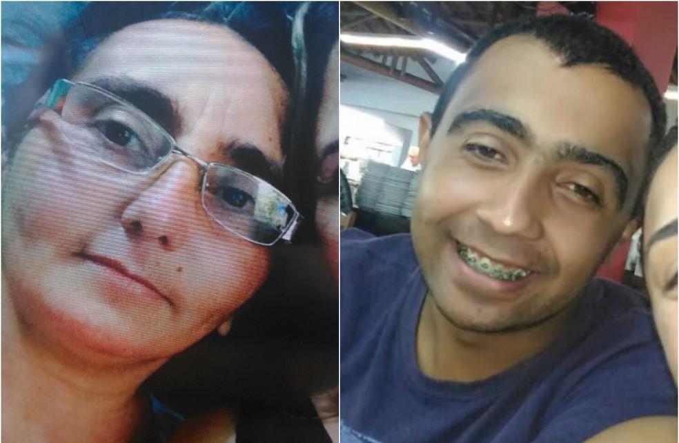 Maria Selma Thomaz e Domingo Savio, feridos no acidente (Foto: Arquivo Pessoal)