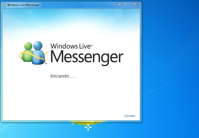 Tela de login do MSN (Foto: Divulgação/MSN Messenger)