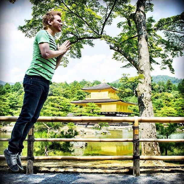 Michel Teló no Japão (Foto: Instagram/Reprodução)