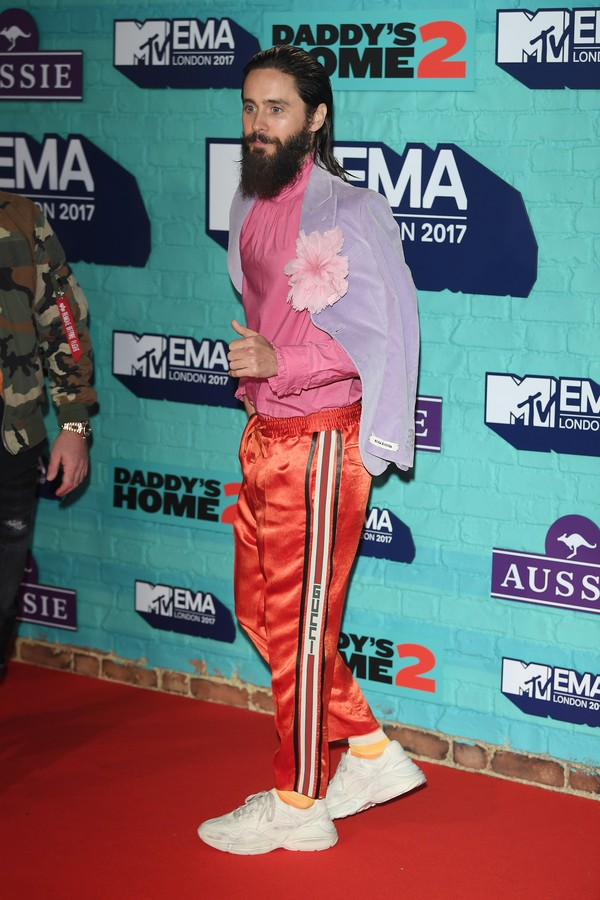 LONDON, ENGLAND - NOVEMBER 12:  Jared Leto attends the MTV EMAs 2017 held at The SSE Arena, Wembley on November 12, 2017 in London, England.  (Photo by Venturelli/WireImage) (Foto: WireImage)