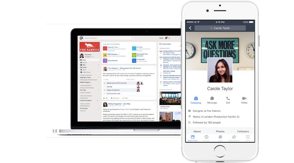 Workplace: nova rede tem ferramentas para as empresas (Foto: Reprodução)