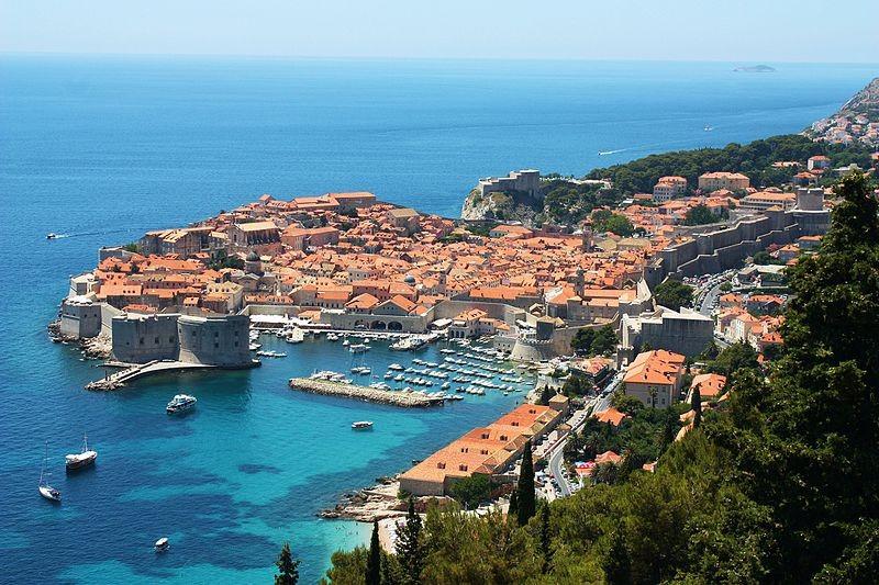 Dubrovnik, na Croácia (Foto: Bracodbk/ Wikimedia Commons)