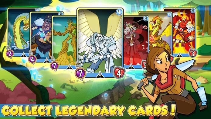 Card game com jogabilidade simples e divertida (Foto: Divulgação / Kongregate)