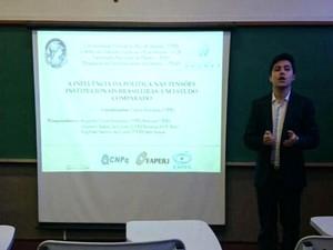 Jovem é aluno de direito em universidade do Rio de Janeiro (Foto: Augusto Sampaio/ Arquivo Pessoal)